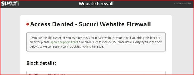 Name:  Access Denied - Sucuri Website Firewall 653x255 65_7KB.JPG Views: 2210 Size:  65.7 KB